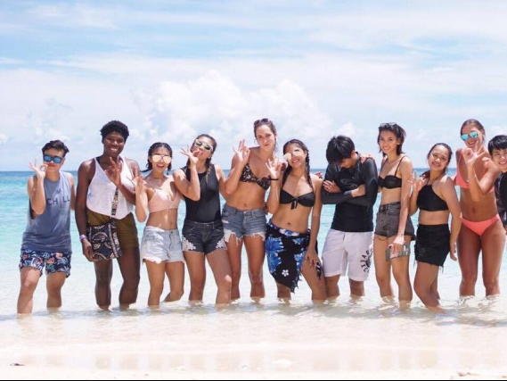 Look: Lady Warriors enjoying their Boracay trip