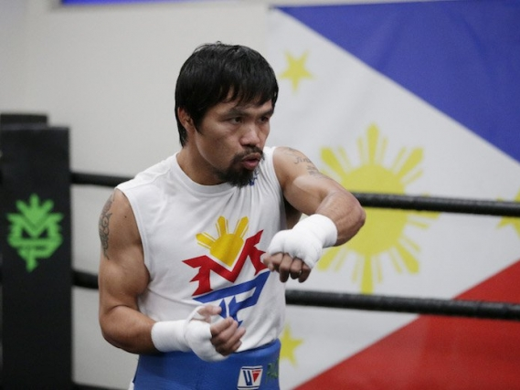 Pacquiao arrives in Australia, set for title fight vs Horn
