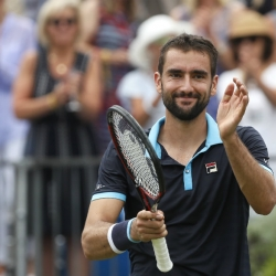 Cilic, Lopez advance to Queen's final