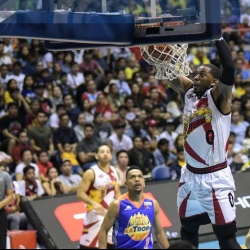 Rhodes gives fine birthday performance for San Miguel Beer