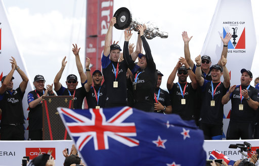 Sailing - British woman navigates male-dominated America's Cup