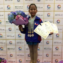 Pinay skater bags 3 golds, beats older competition in Japan