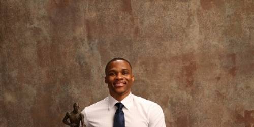 Russell Westbrook wins NBA MVP; Rockets, Bucks take 2 awards