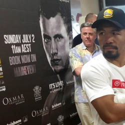 Pacquiao going big, or going bust in the Battle of Brisbane