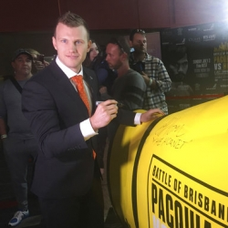 Jeff Horn confident heading into biggest fight of his life
