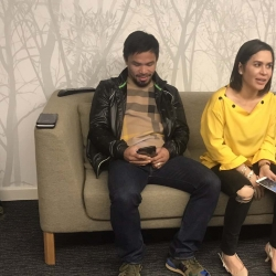 Jinkee Pacquiao would like Manny to finally retire, for good