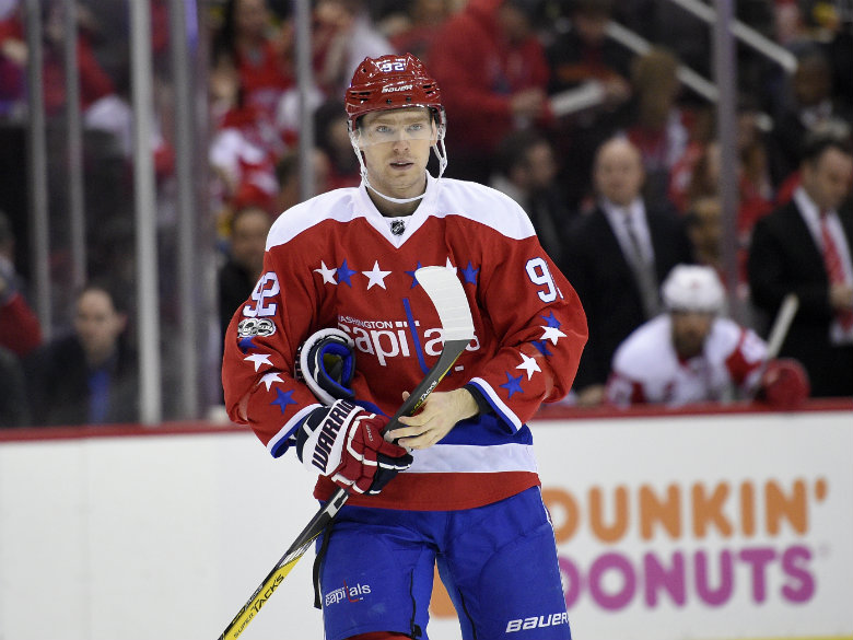 Capitals re-sign Evgeny Kuznetsov, trade Marcus Johansson to Devils