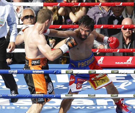 Pacquiao asks WBO to review Horn loss