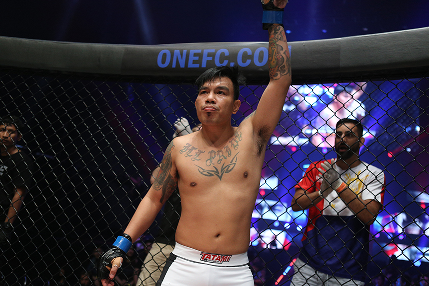Bacolod's Batolbatol looking for first ONE Championship win