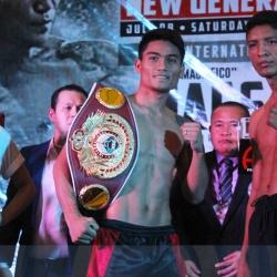 Champ Magsayo, Diaz make weight for Pinoy Pride 41 in Cebu