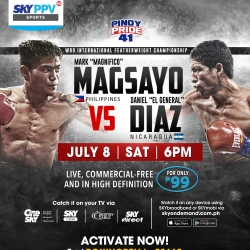 SkyCable PPV brings you Pinoy Pride 41