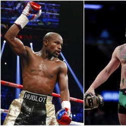 Let the hype begin: Mayweather, McGregor to kick off tour