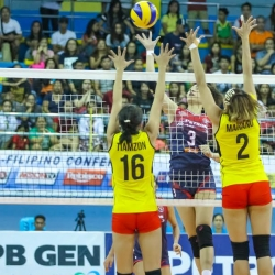 Petron takes Finals Game 1,  sweeps F2 Logistics