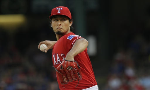 Is Darvish into last stretch with Rangers, his 1st MLB team?
