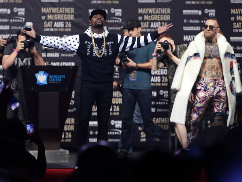 Floyd Mayweather on Conor: 'Racism Still Exists' But I'm No 'Boy'