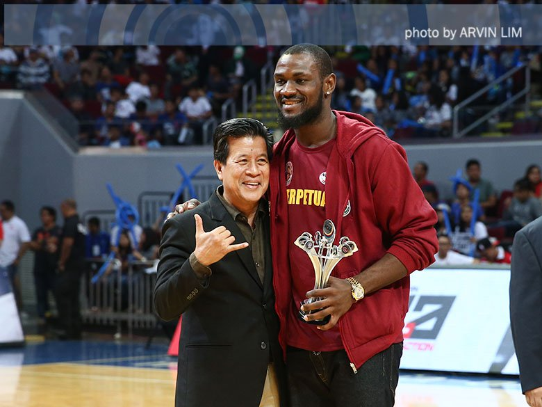 Bright Akhuetie will always love Perpetual