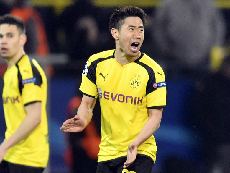 Japan star Kagawa extends Dortmund contract until 2020