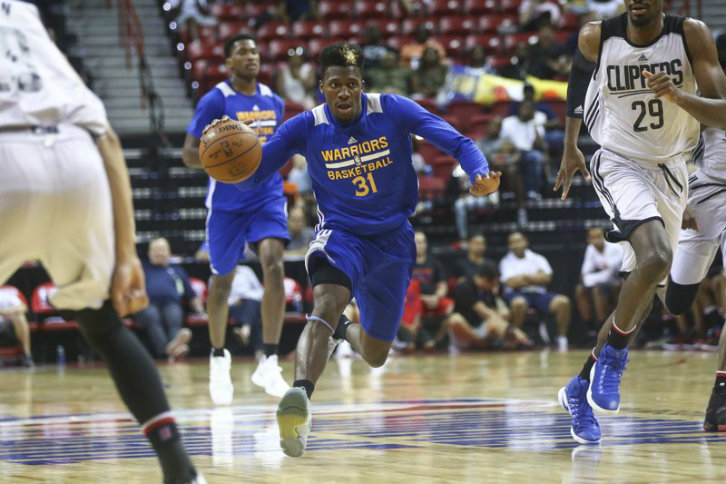 Undrafted Dylan Ennis drops 35 for Warriors in Vegas