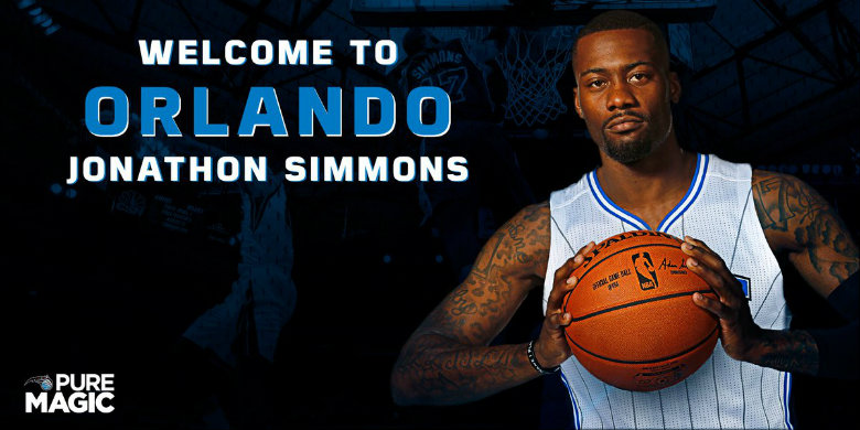 Orlando Magic sign free agent Jonathon Simmons