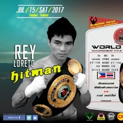 Pinoy boxer Rey Loreto comes up short in world title bid