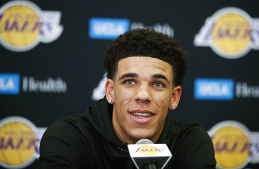 Lonzo Ball's numbers drop in Under Armour but Lakers win