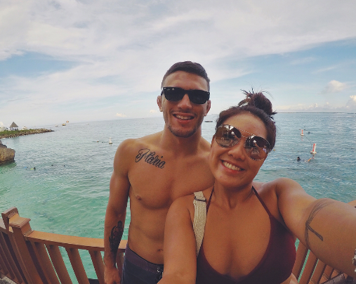 Angela Lee's boyfriend surprises her with trip to Cebu