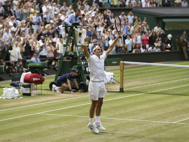 Federer up to ATP No. 3 after Wimbledon; Muguruza WTA No. 5