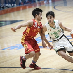 Cagulangan takes charge, tows Jr. Blazers into solo first