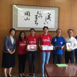 Pinay spikers begin tough Japan training