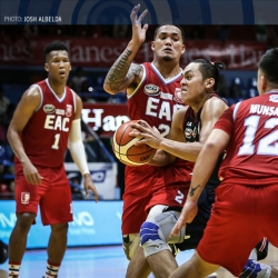 Letran battles back from 17 down to barge into win column