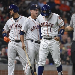 Astros put shortstop Correa on 10-day DL with thumb injury