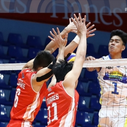 Semis-bound Volley Bolt disconnects HD Spikers from top spot