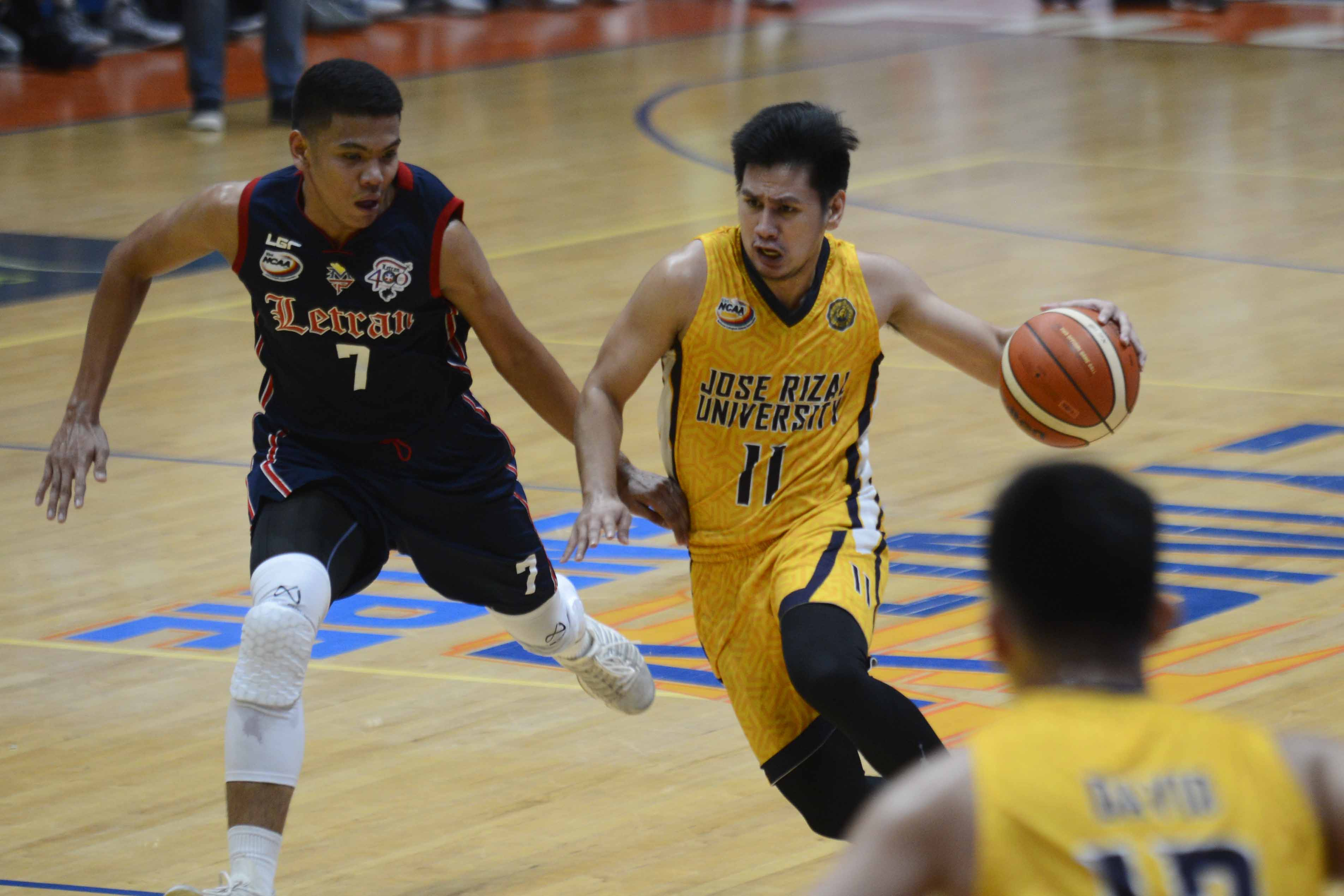 JRU rising star Jed Mendoza once scored 25 points per game