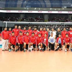 PHI men's volleyball team steps up SEA Games preparation