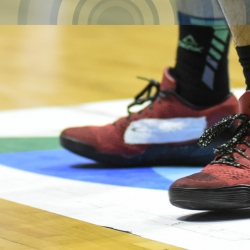 What's up with Terrence Romeo's sneakers?