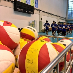 PHI men's volleyball team begins Day 1 of SoKor training