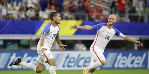 Dempsey record goal, assist leads US into Gold Cup final