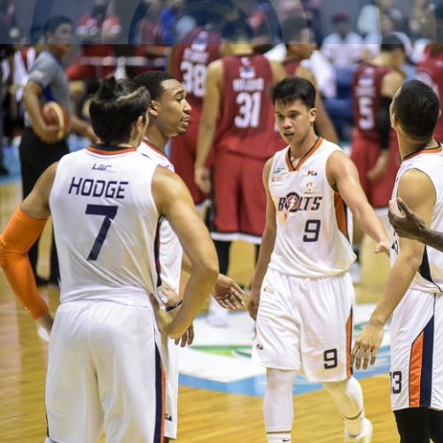 Bolts win Finals rematch against Brgy. Ginebra