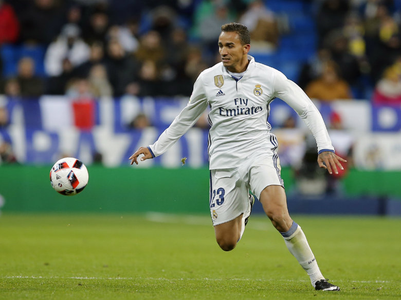 Manchester City set to sign Real Madrid's Danilo for £26.5m