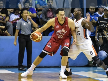 Fit-again Slaughter working on fitting in with Ginebra
