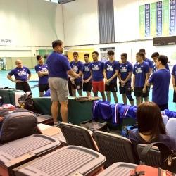 Nationals develop discipline, chemistry in SoKor training
