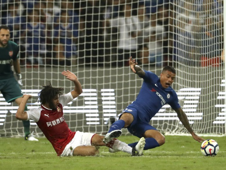 Chelsea sends Kenedy home from Asia after offensive posts