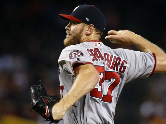 Nats' Strasburg expected to make next start after early exit