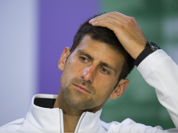 Djokovic will sit out rest of 2017 because of injured elbow