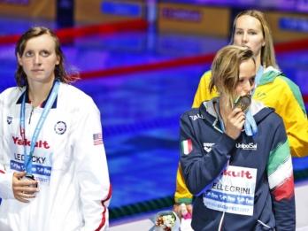Stunner in Budapest: Ledecky loses for 1st time at worlds