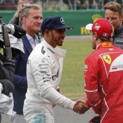 Vettel in no rush on Ferrari future, focusing on Hamilton