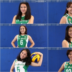 Six Lady Spikers make the DLSU Dean's List