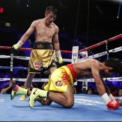 Zou Shiming knocked out by part-time restaurant worker