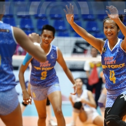 Lady Jet Spikers bounce back all the way to semifinals spot