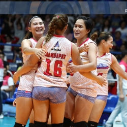 Cool Smashers show huge heart in sweep of elimination round